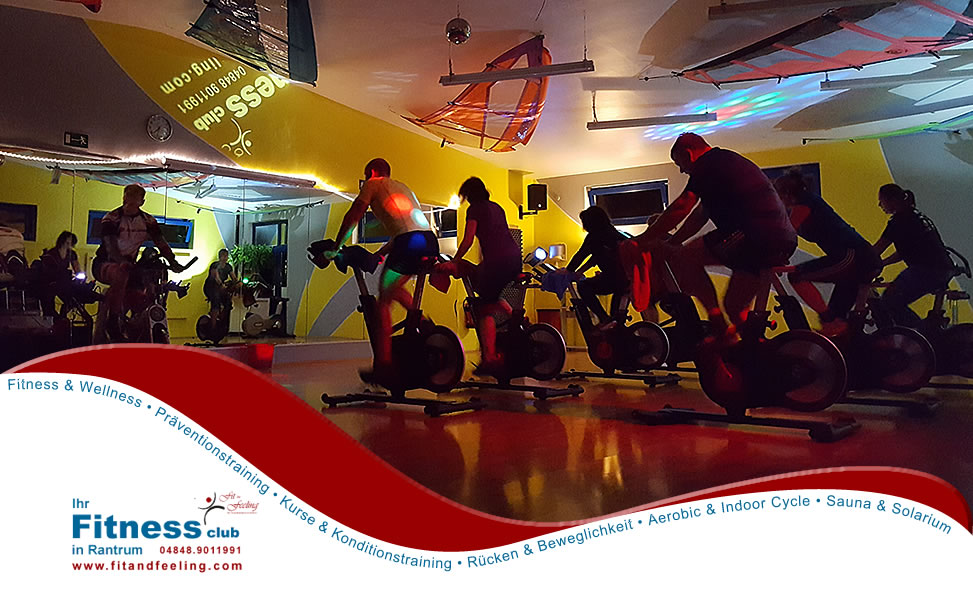 Fit and Feeling - Indoor Cycle fuer Jedermann